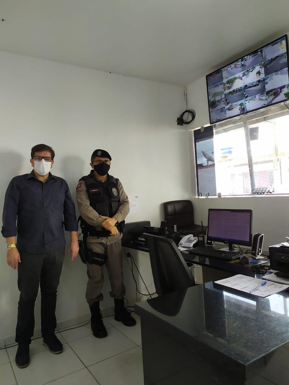 Mais segurança: Solânea tem principais ruas monitoradas por câmeras de segurança.
