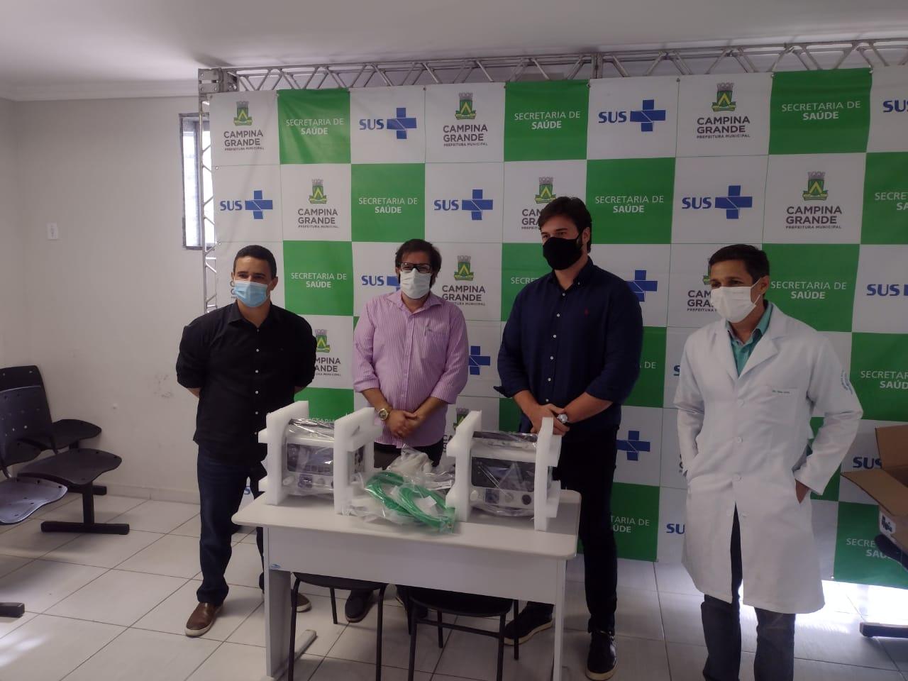 Prefeitura de Solânea cedeu quatro respiradores para ampliar tratamento aos pacientes da covid-19 no Estado da Paraíba.