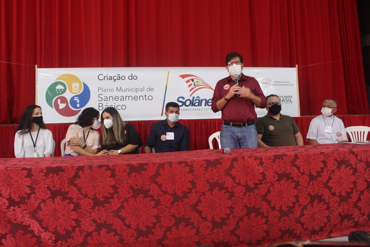 Em Solânea, população é ouvida em audiências públicas para elaboração de Plano de Saneamento Básico.
