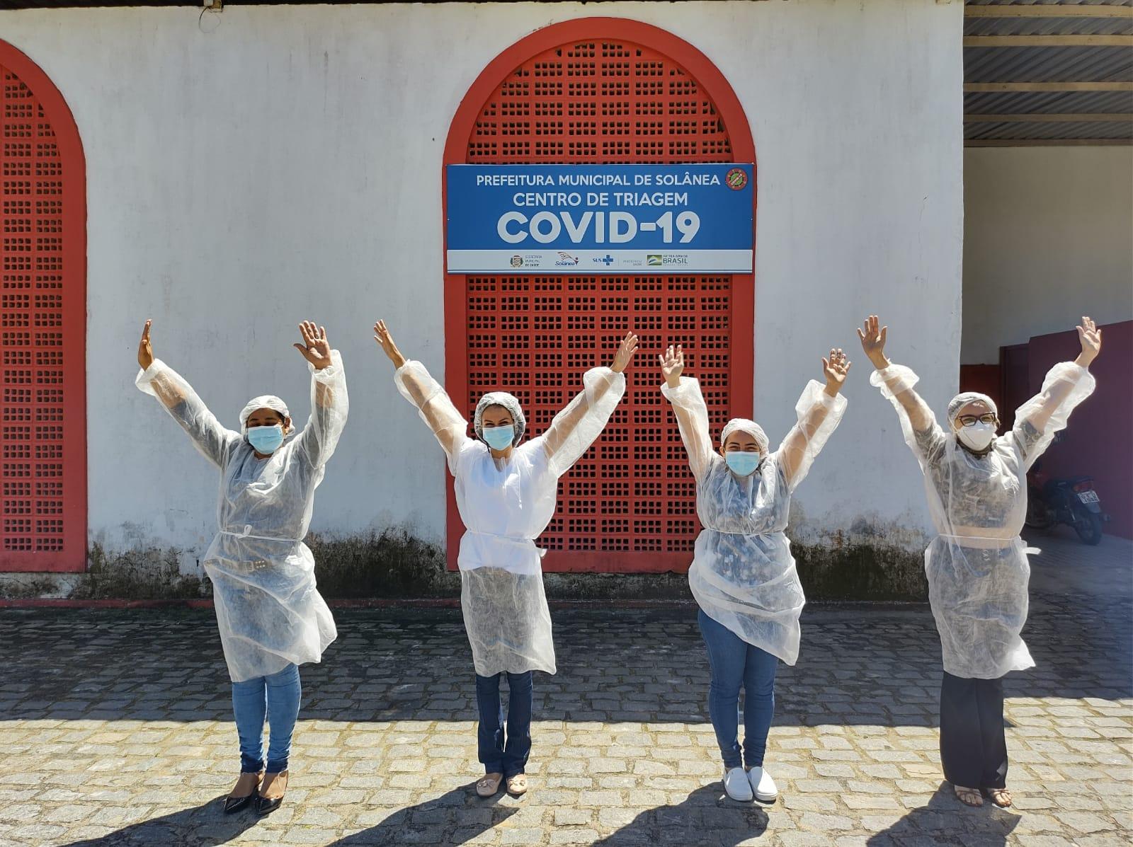 Solânea registra primeiro dia sem casos confirmados de Covid-19 este ano.