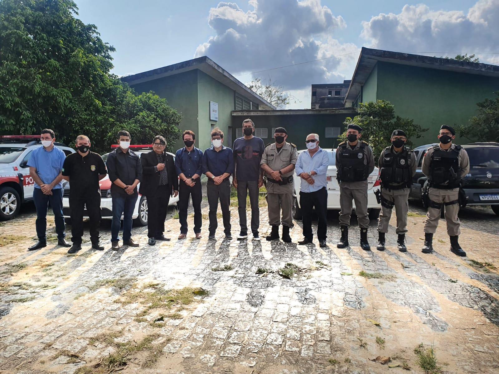 Governo de Solânea articula instalação de complexo de segurança no município.